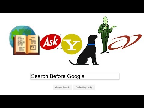 Search Before Google