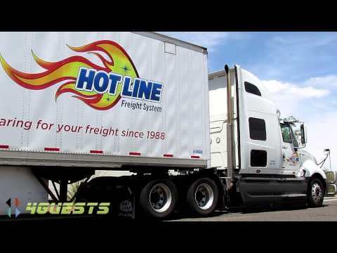 HOT LINE FREIGHT SYSTEM TRUCK, TRUCKING