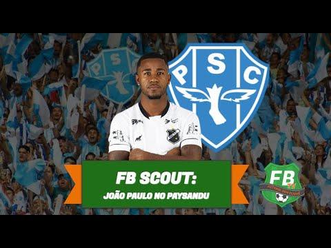 FB Scout - conheça João Paulo, novo meia do Paysandu