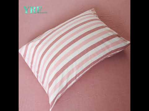 Durable 100% Cotton Pink Bed Sheets Queen 2016F-612