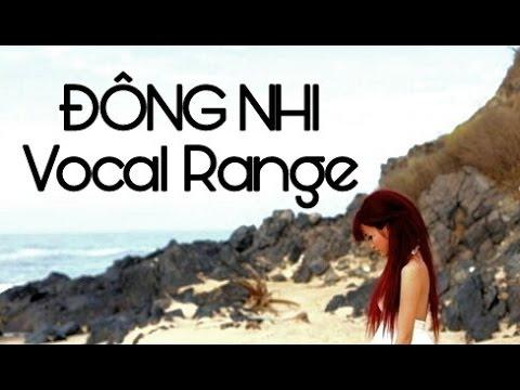 Quãng Giọng Đông Nhi Live - Dong Nhi's Live Vocal Range
