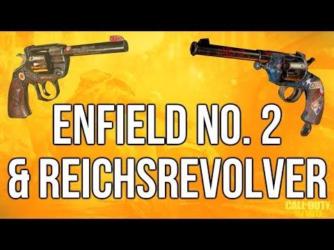 WW2 In Depth: Enfield No. 2 & Reichsrevolver (Call of Duty: WWII)
