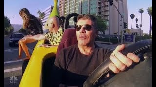 Simon Cowell Goes BANANAS! Get's Pulled Over By Police | Auditions 5 |