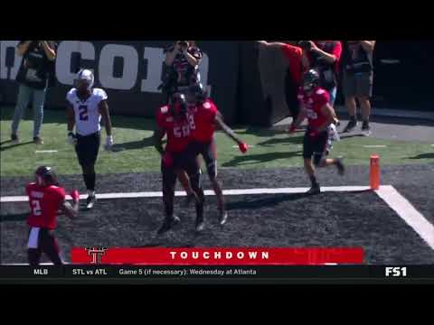 Texas Tech Football Vs. #21 Oklahoma State: Highlights   2019
