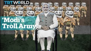 Narendra Modi and India's right-wing troll army