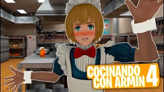 SHOW DE COCINA DE ARMIN 4 (AOT VR ESPAÑOL)
