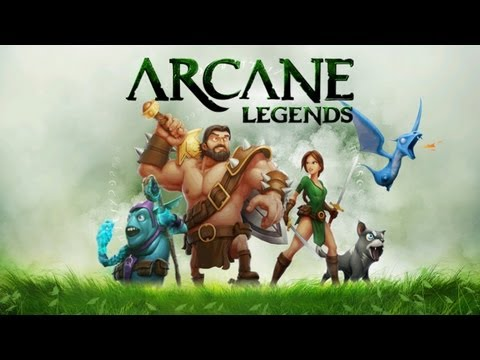 Arcane Legends - Universal - HD Gameplay Trailer