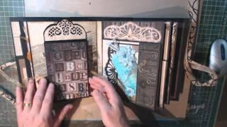 Bland Designs- Heartfelt Creations 3D Flip Fold Album