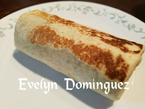 Rice ,Meat And Cheese Burrito ( English Version)