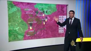 تفاصيل مسار المعارك في حلب