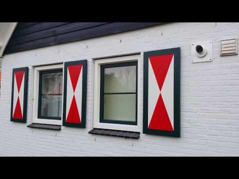 Verwonderend Kunststof Sier Luiken   Prijzen voor raamluiken en vergelijk met SH-24