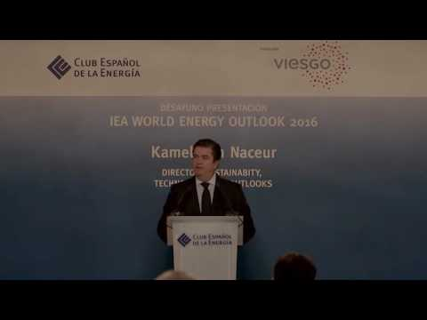 IEA World Energy Outlook 2016