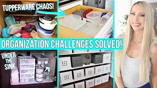I Solve Your Biggest Organization Challenges!