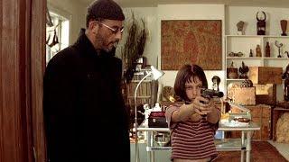 Леон учит Матильду исскуству убивать|Леон (1994)|Сцена из фильма