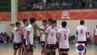 """Туркменистан vs ДВО / Волейбол. """"Дети Азии 2016"""""""