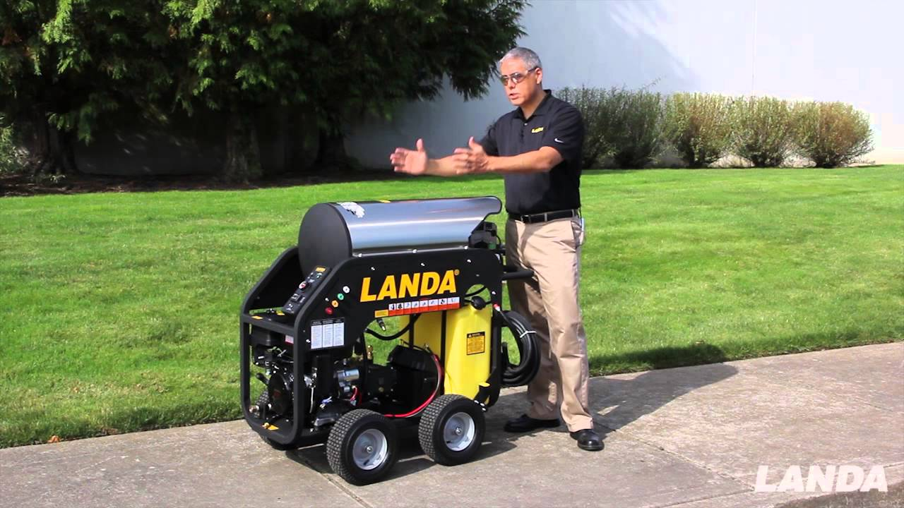 landa mhc pressure washer mobile and compact 1 of 5