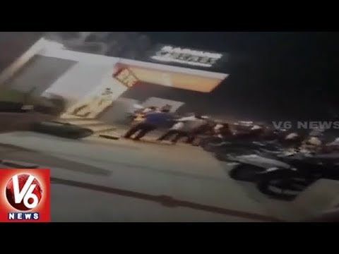 Padmavat Movie Controversy : Protesters Vandalise Theatre In Gujarat's Ahmedabad | V6 News
