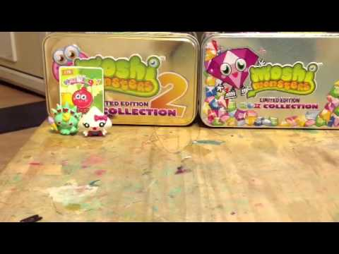 Moshi monsters opening series 1 2  and 3 blind packs