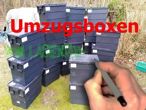 Umzugsboxen vom Lastentaxi-Hamburg