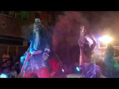 Auwghads performance on Holi Khele Masane Mein - Malini Awasthi