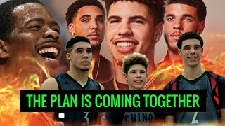 LaMelo, Lonzo & Liangelo Training TOGETHER with Jermaine - Lavar's Plan in Motion