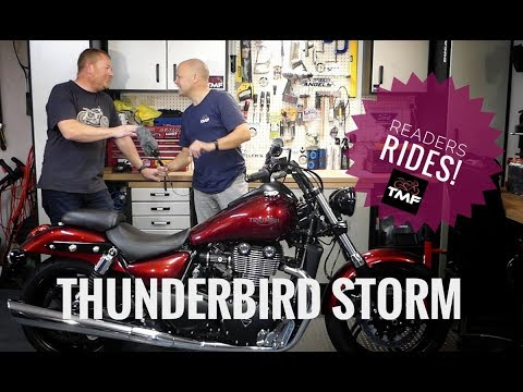 Readers Rides: Triumph Thunderbird Storm Review