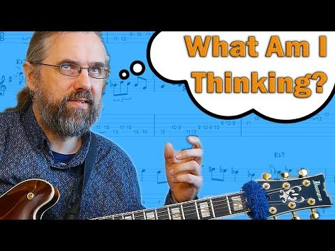 Jazz Guitar Solo - This Is What I Think About