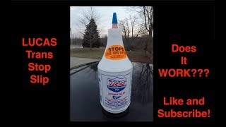 Does Lucas Transmission Stop Slip Work???? Full Review on this Quick Fix