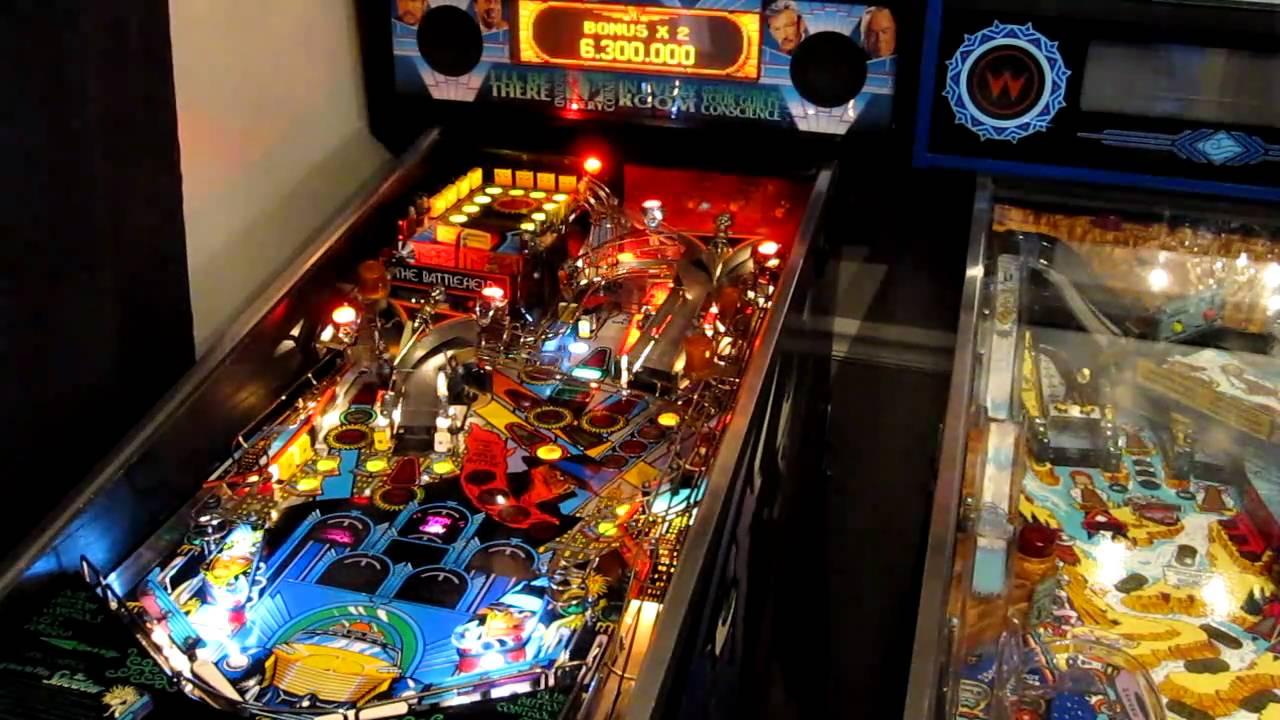 the shadow pinball machine