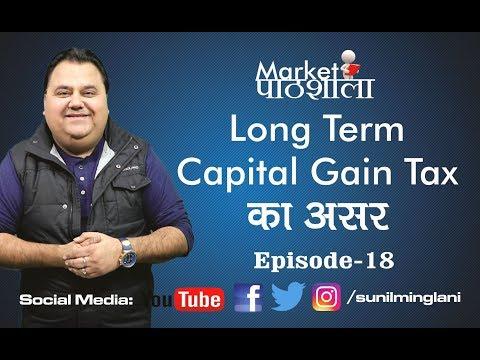 LTCG or Long Term Capital Gain Tax का असर    Market Pathshala Episode-18    Sunil Minglani