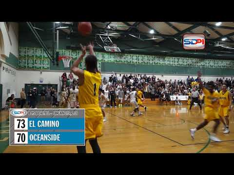 San Diego Boys Basketball Highlights: Oceanside vs El Camino