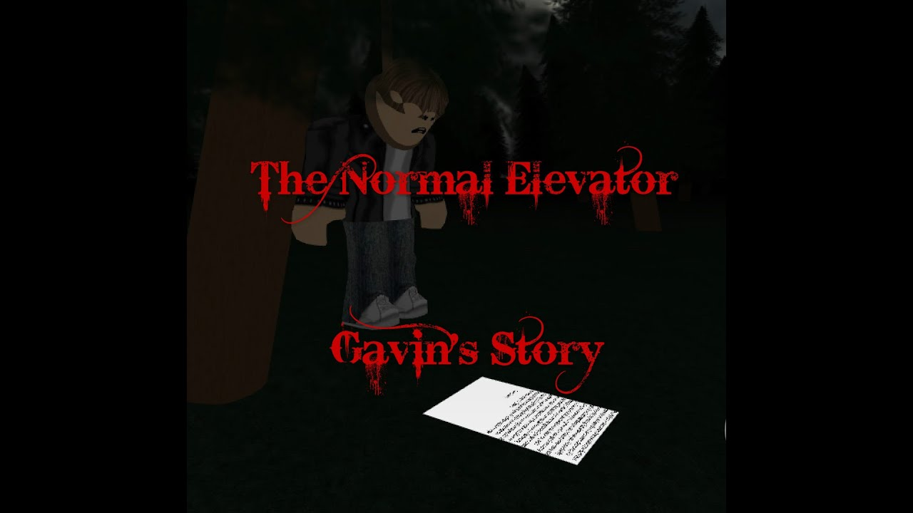 Roblox The Normal Elevator Gavin S Story Door Code Correct End