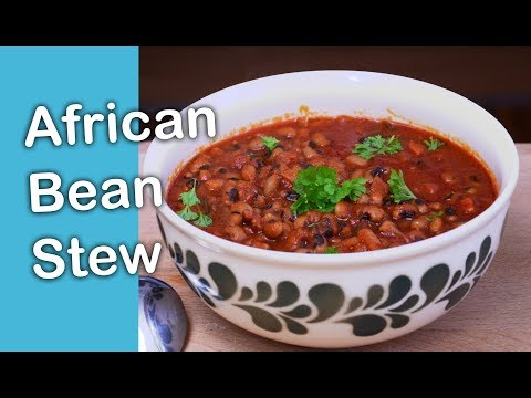 THE BEST AFRICAN BEAN STEW - NAMIBIAN FOOD OMUSHA - LEMPIES