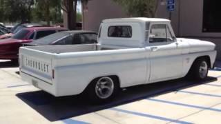 1964 White Chevy Truck Lives