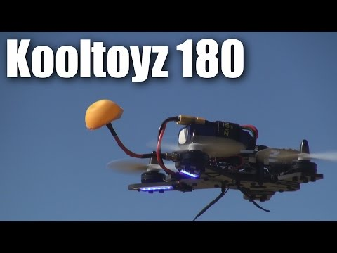 Review: Kooltoyz Midge 180 Mini-quadcopter