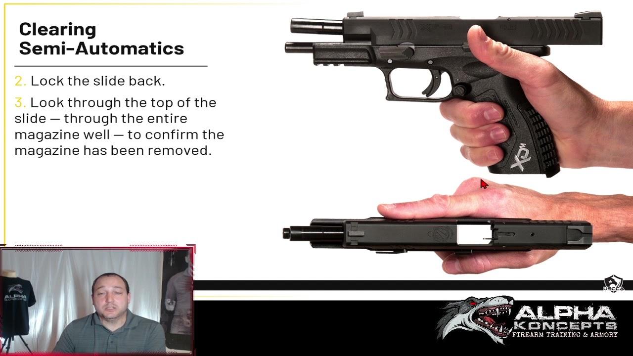 Self Defense Firearm Basics Webinar