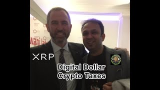 Ripple CEO In Davos, XRP Mass Adoption, Digital Dollar And Crypto Taxes