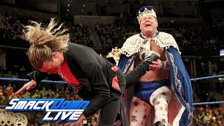 """Jerry """"The King"""" Lawler gets crowned by Ziggler on """"King's Court"""": SmackDown LIVE, Jan. 17, 2017"""