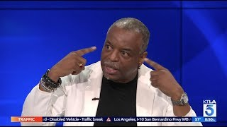 """Roots"" Actor LeVar Burton Reacts to Kanye West & Talks ""LeVar Burton Reads"""