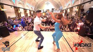 Kike y Nahir [ Dancing on my own ] @ One Dance Latin Festival 2018