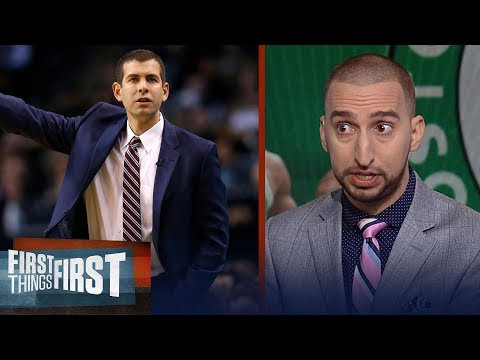 Nick reveals the man behind Boston's success, Compares Kevin Durant to LeBron | FIRST THINGS FIRST
