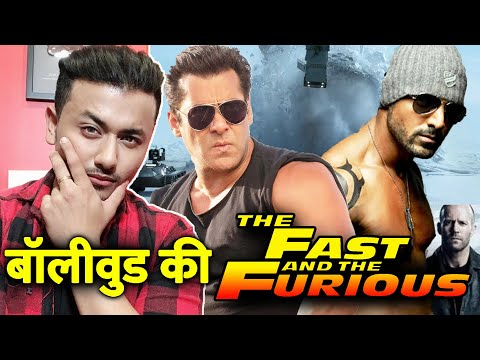 Salman Khan as Vin Diesel, John Abraham as THE ROCK | Fast And Furious In Bollywood