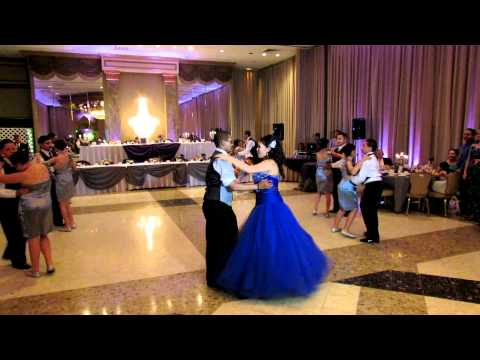 Jackie's 15 Surprise Dance to Xtreme-Te Extraño and La Makina-Estan Bailando