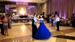 jackies 15 surprise dance to xtreme te extraño and la makina estan bailando