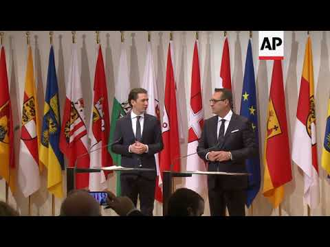 Austria's government holds first working meeting of new ...
