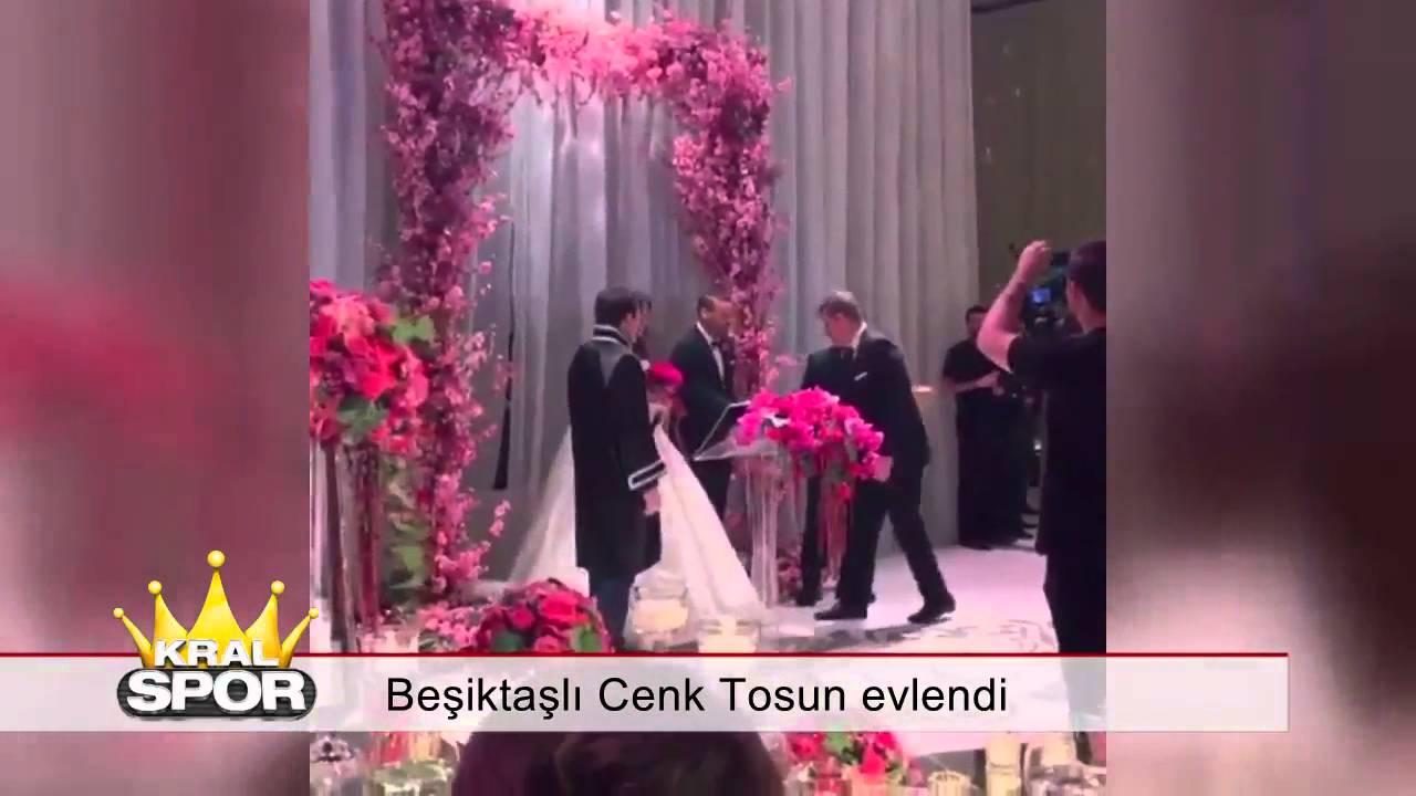 Beşiktaşlı Cenk Tosun Evlendi HD