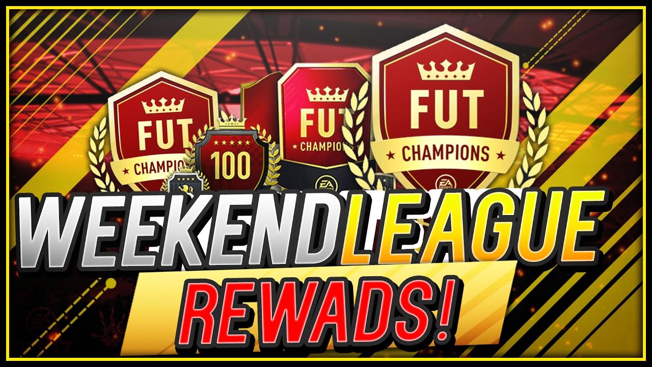 Weekend League Rewards Time