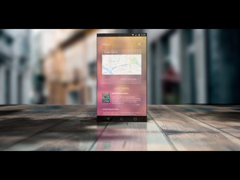 mobile app presentation — after effects project | videohive, Presentation templates