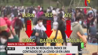 EsSalud: se redujo 12 % el índice de contagios de la COVID-19 en Lima