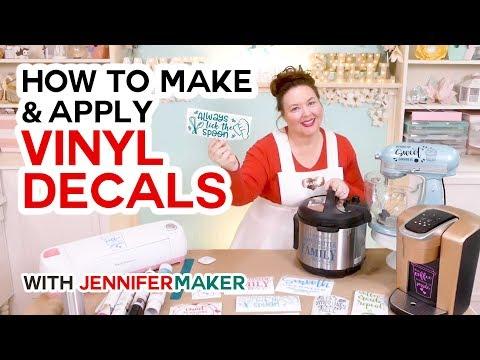 how-to-make-vinyl-decals-designs-for-instant-pot,-kitchenaid-mixer,-&-keurig!